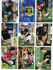 CARD CRAZY AUTHENTICS Rugby Superstars 1996 ODD CARDS WAIKATO WELINGTON ETC