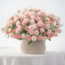 Artificial Fake Silk Plant Lilac Flowers Bouquet Wedding Party Home Garden Decor