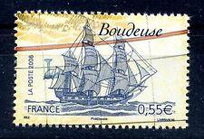 STAMP / TIMBRE FRANCE  N° 4251 ** VOILIERS CELEBRES / LA BOUDEUSE