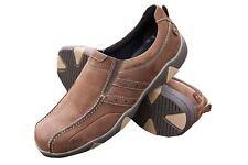 DB 's Para hombres Zapatos extra ancho y profundo en ajuste de 2 V (2E-4E) en Brown Nubuck