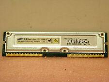 Samsung MR16R162GEGO-CM8 Rambus memory sim 512MB 800-40 800MHz 184p 512MB/16