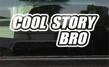 COOL STORY BRO  VINYL DECAL / STICKER