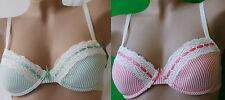 Viance Push up soutien-gorge à armature coupe : A-D,taille : 70-85,vert/rouge
