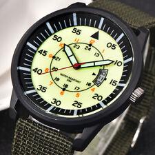 Military Men Stainless Steel Luminous Dial Display Sports Wrist Watch US Goodish