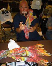 Superstar Billy Graham Signed WWE Tie Dye Bandana PSA/DNA WWF Champion Autograph