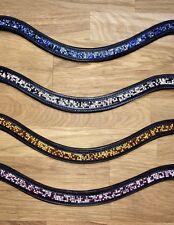 HKM Stirnband Stirnriemen Amanda - tolle Farben mit synth. Diamanten - H&H Celle