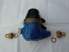 """1/2"""" BSP Multifiamme QUADRANTE A SECCO contatore d'acqua con o senza interruttore Reed"""