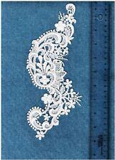 """Victorain Venise Lace Applique Rayon Crafts Bridal Trim Quilt 9"""" #5511 $ 2p"""