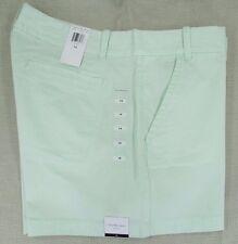 CALVIN KLEIN JEANS Women's Trouser Casual Shorts Ambrosia Green 14 NEW NWT