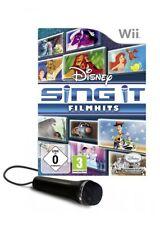 Nintendo Wii Spiel - Disney's Sing it: Filmhits / Family Hits + Mic (mit OVP)