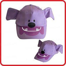 KIDS CHILDRENS PURPLE DOG PUPPY ANIMAL WITH EARS BASEBALL CAP / HAT-CUTE-COSTUME