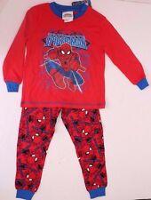 Marvel Spider-Man Kids Boys Red Pajama Sleepwear 2-Piece Set  Sizes 2 3 4  NWT