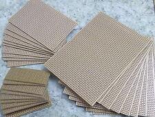 """Sim2 Veroboard PCB de cobre 0.1"""" matriz 1mm perforada agujero 5 tamaños por favor seleccione"""