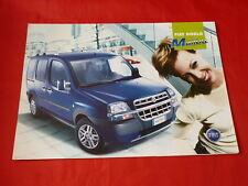 """FIAT DOBLO' """"MALIBU """"speciale prospetto modello di 2003"""