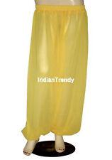 Yellow - Harem Yoga Pant Belly Dance Club Tribal Costume Pantalons Trouser Genie