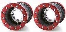 "Tech 3 Wheels RED Rear Dual Beadlock 9"" 9x9 4+5 4/110-115 Suzuki LTZ400 400"