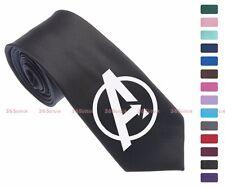 Avengers logo Men Multi-colored 6.5 cm Skinny Slim Tie Necktie 034