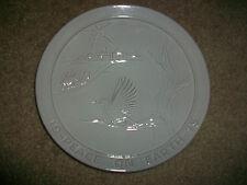 "Frankoma 1975 Peace on Earth Plate 8 1/4"" Christmas"