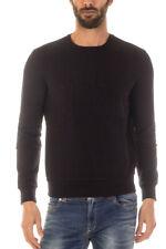 Felpa Armani Jeans AJ Sweatshirt Hoodie -25% Uomo Nero 6X6M266JPAZ-1200