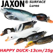 Surface DUCK Lure 13cm / 25g Top Water Jaxon Rattlin 3d Duck Weedless Hooks