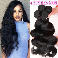 100% Soft Body Wave 400G 4 Bundles Brazilian Human Hair Virgin Weave Weft F796