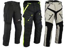 Pantalones de Moto Cordura negro Hombre Pantalón Textil M L Xl Xxl - 5XL