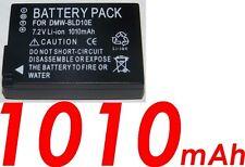 ★★★ 1010 mAh ★★★ Batterie Pour PANASONIC LUMIX DMW-BLD10/BLD10E Pour DMC-GF2CW