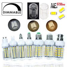 Dimmable LED Corn Light Bulbs E14 E27 G9 GU10 6W - 30W 5730 SMD 220V White Lamp