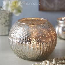 Conjuntos De Vidrio Antiguo Grande Redondo con textura de té titular de la luz