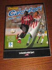 ALBUM CALCIATORI PANINI GAZZETTA DELLO SPORT 1995/96