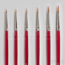 Javis Nylon Paint Brush Model Hobby Wargaming Brushes Sets 00000 0000 000 00 0 1