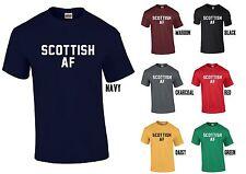 Scottish AF T-Shirt-Scotland Tee Top indépendance drôle rude comme F * ck