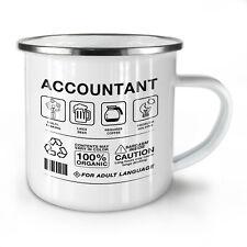 Accountant Multitasking NEW Enamel Tea Mug 10 oz   Wellcoda