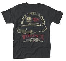 Black Label Society Muscle Car Zakk Wylde Rock officiel T-shirt Hommes
