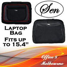 "Premium 15.4"" Laptop Bag Case Shoulder Bag for Mac Toshiba Vaio Asus Acer HP"
