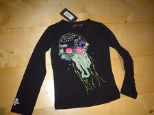 WI 11/12 - Catimini Urban Global Camisa, negro Talla 6a(116)