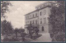 PISA PONTEDERA 13 LA ROTTA - VILLA AZZONI AVOGADRO Cartolina viagg. 1919