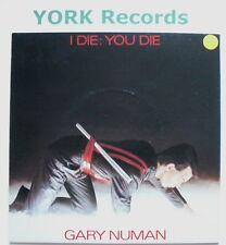"GARY NUMAN - I Die You Die - Excellent Con 7"" Single Beggars Banquet BEG 46"
