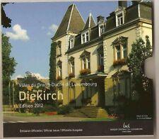 BU Luxemburg 2012  * * * coffret BU Luxembourg 2012 !!!