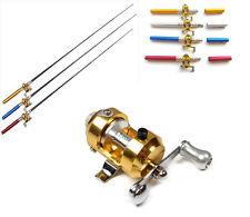 Outdoor fishing Telescoping Rod/Reel Combo Portable Tiny fishing pole Kit # G05