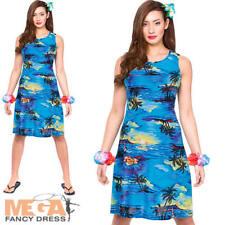 Hawaiian Costume Kit instantanée 5Pc Hula Honey Déguisements Herbe Jupe Outfit New O