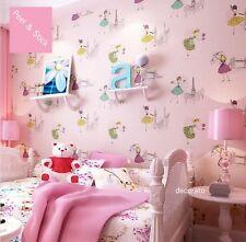 PINK FAIRY STICKY BACK PLASTIC WALLPAPER  FABLON GIRLS UNICORN MERMAID MAGICAL