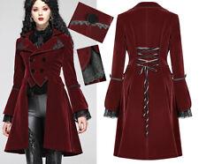 Manteau veste velours traîne gothique lolita baroque victorien corset PunkRave R