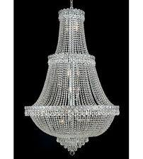 Palace Empire 17 Light Crystal Chandelier Light - Chrome-Precio Mayorista