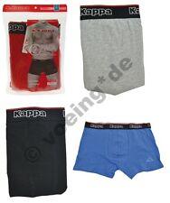 Kappa Herren Boxershorts 4 Farben Boxer-Shorts 2er-Pack Doppelpack M/L/XL/XXL