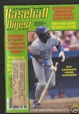 Baseball Digest c.Nov 85 300th Win To Seaver Legend