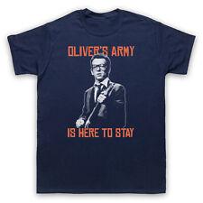 OLIVER'S ARMY ELVIS COSTELLO PUB ROCK UNOFFICIAL T-SHIRT MENS LADIES KIDS SIZES