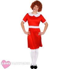 Señoras Little Orphan Fancy Dress Costume carácter musical de película de la Semana Libro De La Escuela
