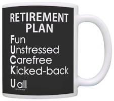 Retirement Gag Gifts Retirement Plan Sarcastic Acronym Coffee Mug Tea Cup