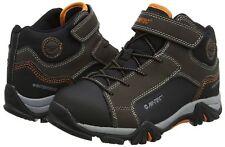 Hi-Tec Boy Girl Kids Trail Ox Mid Waterproof Junior Hiking Boots Sizes Uk 11 - 5